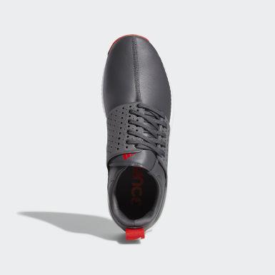 Men Golf Grey Adicross Bounce Shoes