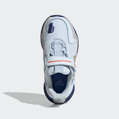 เด็ก วิ่ง สีน้ำเงิน รองเท้า 4uture Runner Cleofus