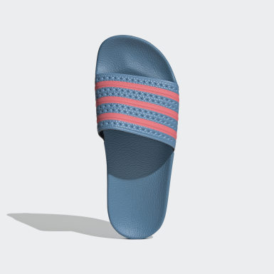 adilette Slides Niebieski