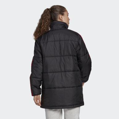 Frauen City Outdoor Insulated Jacke Schwarz