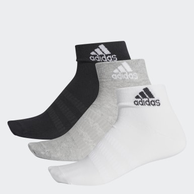 Training Grey Ankle Socks 3 Pairs