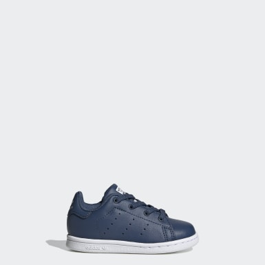 Kids Originals Blue Stan Smith Shoes