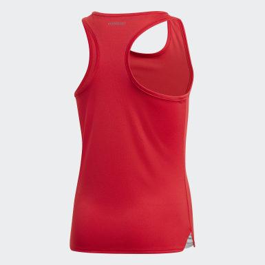 Camisola de Alças Club Vermelho Raparigas Ténis