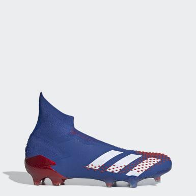 Calzado de Fútbol Predator Mutator 20+ Terreno Firme Azul Hombre Fútbol