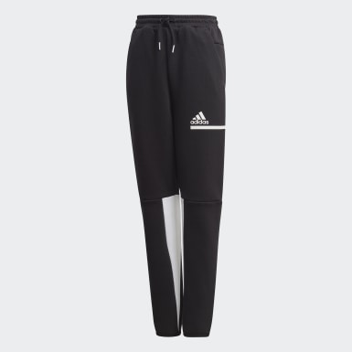 Youth 8-16 Years Training Black Z.N.E. Tracksuit Bottoms