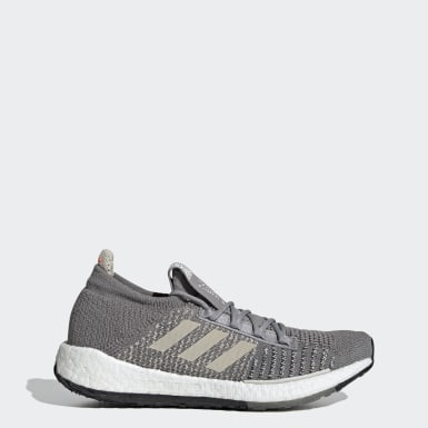 Women Running Grey Pulseboost HD Shoes