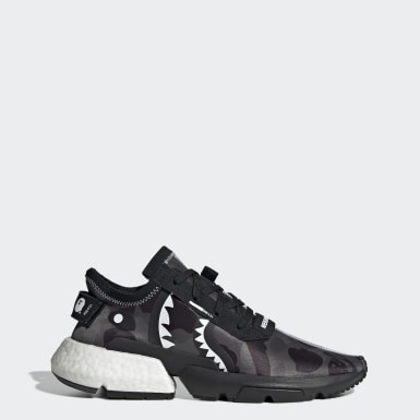 Chaussure NEIGHBORHOOD BAPE POD-S3.1 Noir Originals