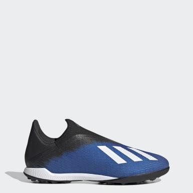 Chuteira X 19.3 Society Azul Homem Futebol
