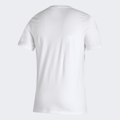 Men Soccer White Real Madrid Tee