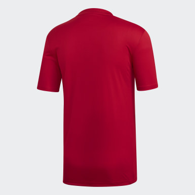 Maillot Striped 19 Rouge Hommes Training