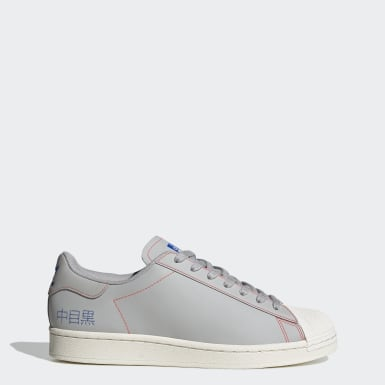 Men Originals Grey Superstar Pure Shoes
