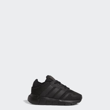 Infants Originals Black Swift Run X Shoes