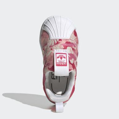 Kinder Originals Superstar 360 Schuh Weiß