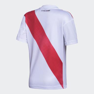 Camiseta Titular River Plate Niño Blanco Niño Fútbol