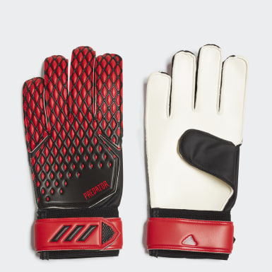 Football Black Predator 20 Training Goalkeeper Gloves