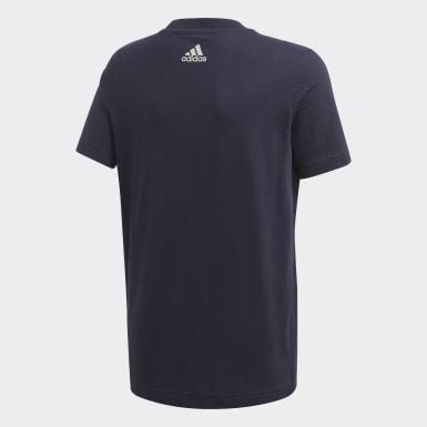 T-shirt com estampado Azul Rapazes Treino