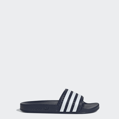 Kids Originals Blue adilette Slides
