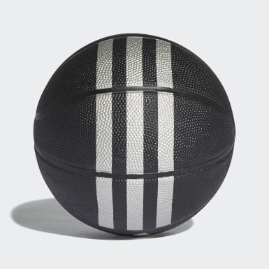 Basketball Black 3-Stripes Mini Basketball