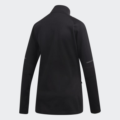 Women Running Black PHX Track Jacket