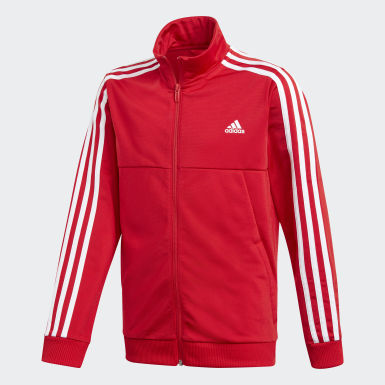 Youth 8-16 Years Training Red Tiro Tracksuit