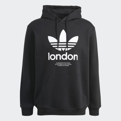 Originals London Hoodie Schwarz