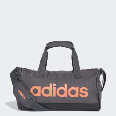 Training Grey Linear Duffel Bag