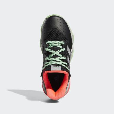 Kinderen Basketbal Zwart Harden Stepback Schoenen