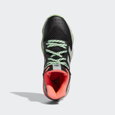 Sapatos Stepback Harden Preto Basquetebol