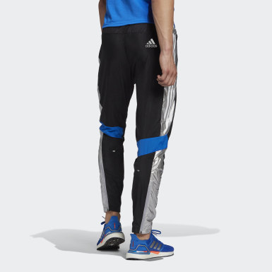Men Running Black Own The Run Space Race Track Pants