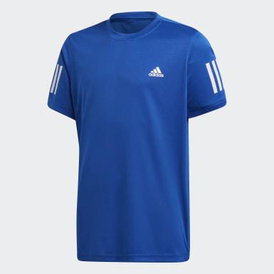 Camiseta Club 3 Rayas Azul Niño Tennis