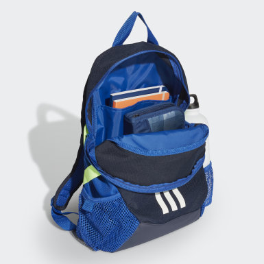 Kids 4-8 Years Running Blue Power 5 Backpack Small