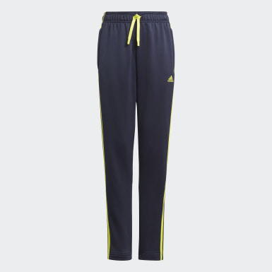 Pantalon Design 2 Move 3-Stripes Bleu Garçons Athletics