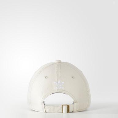 Women's Originals Beige Originals Relaxed Strap-Back Hat