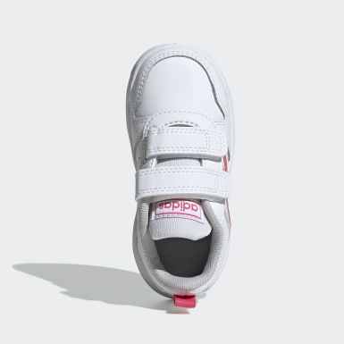 Girls Løb Hvid Tensaur sko