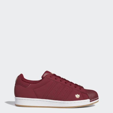 Chaussure Superstar Burgundy Originals