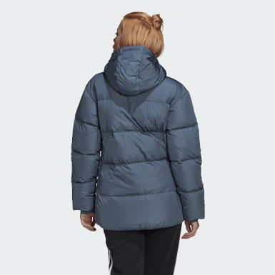 Down Puffer Jacket Zielony
