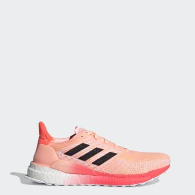 Kvinder Løb Orange Solarboost 19 sko