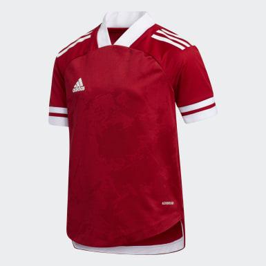 Camiseta Condivo 20 Rojo Niño Fútbol