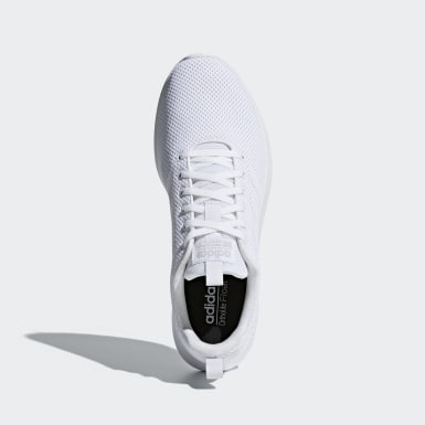 Men Running White Lite Racer CLN Shoes