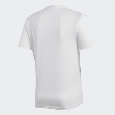 Camiseta entrenamiento Core 18 Blanco Hombre Training