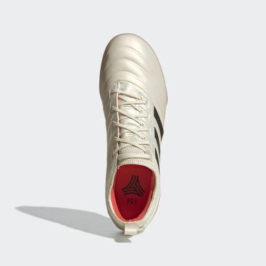 Calzado de Fútbol Copa 19.1 Pasto Sintético Beige Hombre Fútbol