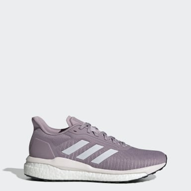 Women's Running Purple Solar Drive 19 Shoes
