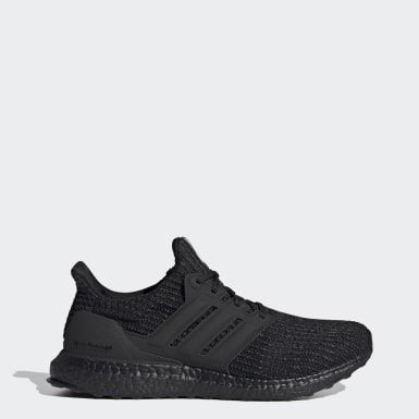 Men Running Black Ultraboost 4.0 DNA Shoes