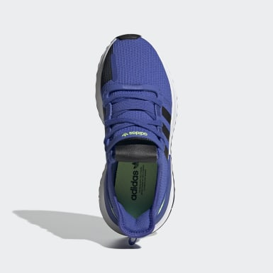 Sapatos U_Path Run Azul Criança Originals