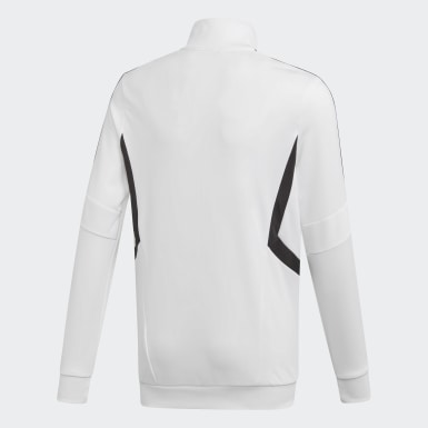 Youth Soccer White Tiro Track Jacket