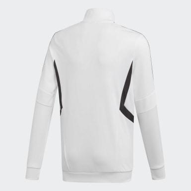 Børn Træning Hvid Tiro træningsjakke