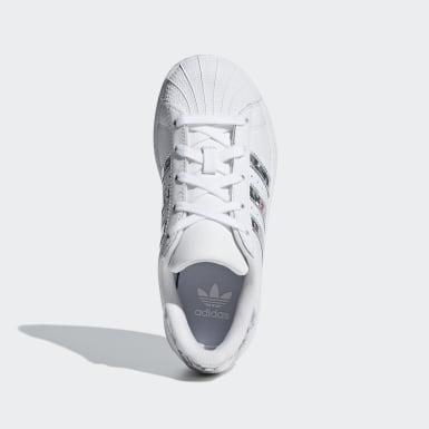 Scarpe Superstar Bianco Ragazza Originals