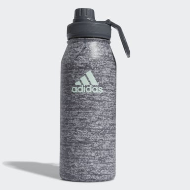 Training Grey Steel Bottle 1 L