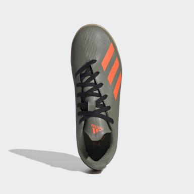 Boys Fodbold Grøn X 19.4 Indoor støvler