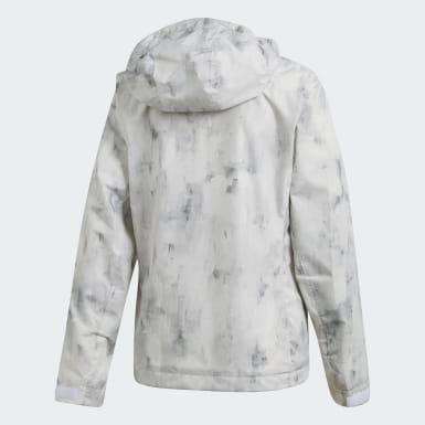 белый Куртка Wandertag Allover Print